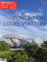 Dernières parutions dans Hors-série, Fondation Louis Vuitton