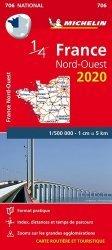 Dernières parutions dans National, France Nord-Ouest. 1/500 000, Edition 2020