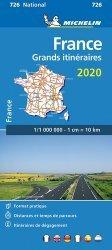 Dernières parutions dans National, France Grands itinéraires. 1/1 000 000, Edition 2020