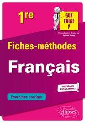 Dernières parutions sur Méthodes de langue, Français 1re