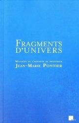 Dernières parutions sur Histoire du droit, Fragments d'univers