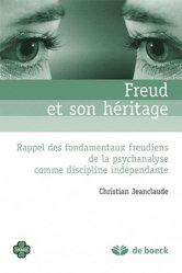 Dernières parutions dans Oxalis, Freud et son héritage