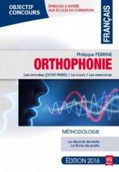 Nouvelle édition Français Orthophonie 2016