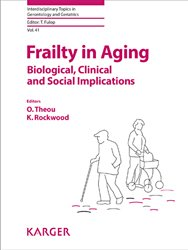 Dernières parutions dans Interdiscinary Topics in Gerontology, Frailty in Aging