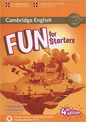 Dernières parutions dans Fun for Starters, Movers and Flyers, Fun for Starters - Teacher's Book with Downloadable Audio