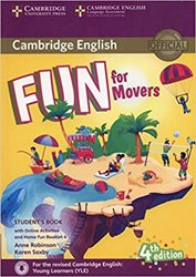 Dernières parutions dans Fun for Starters, Movers and Flyers, Fun for Movers - Student's Book with Online Activities with Audio and Home Fun Booklet 4