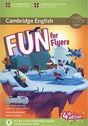 Dernières parutions dans Fun for Starters, Movers and Flyers, Fun for Flyers - Student's Book with Online Activities with Audio and Home Fun Booklet 6