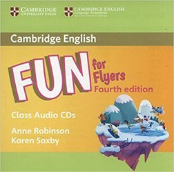 Dernières parutions sur Fun and Storyfun for Starters, Movers and Flyers, Fun for Flyers - Class Audio CDs (2)
