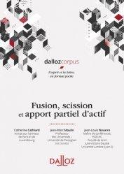 Dernières parutions sur Droit des sociétés, Fusion, scission et apport partiel d'actifs