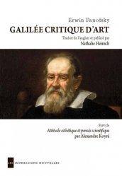 Dernières parutions dans Réflexions faites, Galilée critique d'art
