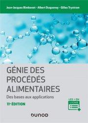 Dernières parutions sur Industrie agroalimentaire, Génie des procédés alimentaires