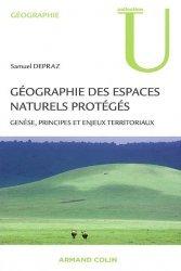 Dernières parutions sur Géographie physique, Géographie des espaces naturels protégés