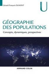 Dernières parutions dans U Géographie, Géographie des populations. Concepts, dynamiques, prospectives