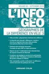 Dernières parutions dans L'information géographique, Géographies de la différence en ville