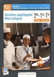 Souvent acheté avec Le bullet agenda de l'étudiante infirmière : 2019-2020, le Gestion appliquée Mercatique 2de, 1re, Tle Bac Pro Cuisine (2015) - Pochette élève