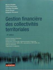 Dernières parutions sur Finances locales, Gestion financière des collectivités territoriales. 8e édition