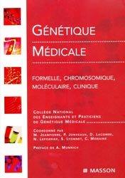Souvent acheté avec Immunologie médicale, le Génétique médicale