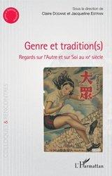 Dernières parutions dans Colloques et rencontres, Genre et tradition(s)