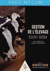 Dernières parutions sur Maladies d'élevage, Gestion de l'élevage bovin laitier