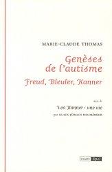 Dernières parutions dans Essais, Genèses de l'autisme