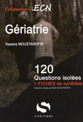 Souvent acheté avec 120 questions indifférenciées, le Gériatrie