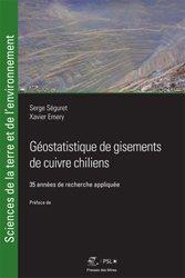 Dernières parutions sur Sismologie - Tectonique - Géodynamique, Géostatistique de gisements de cuivre chiliens