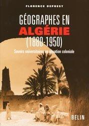 Dernières parutions sur Afrique, Géographies en Algérie (1880-1950)
