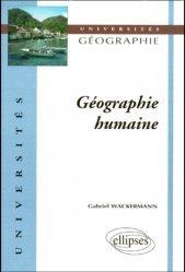 Nouvelle édition Géographie humaine