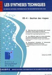 Dernières parutions dans Les Synthèses techniques de l'office international de l'eau, Gestion des risques