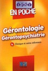 Souvent acheté avec Diabète - Maladies métaboliques & Nutrition, le Gérontologie Gérontopsychiatrie