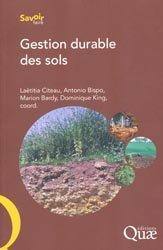 Souvent acheté avec Écologie du paysage, le Gestion durable des sols