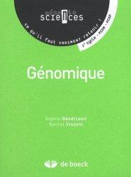 Souvent acheté avec Génétique et biotechnologie UE1, le Génomique