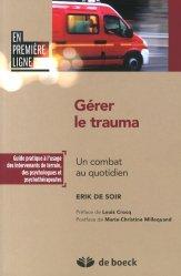 Souvent acheté avec Scores en médecine d'urgence, le Gérer le Trauma