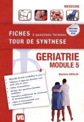 Souvent acheté avec Gériatrie, le Gériatrie - Module 5