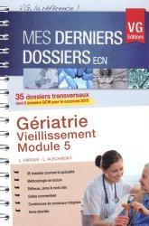 Souvent acheté avec Dossiers indifférenciés, le Gériatrie - Vieillissement - Module 5