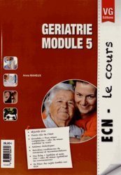 Dernières parutions sur Cours ECN / iECN, Gériatrie- module 5