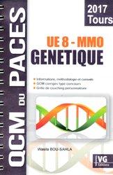 Dernières parutions dans QCM du PACES, Génétique MMO Tours UE8 livre paces 2020, livre pcem 2020, anatomie paces, réussir la paces, prépa médecine, prépa paces