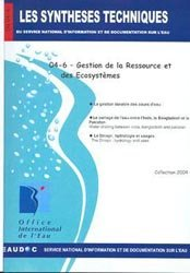 Dernières parutions dans Les Synthèses techniques de l'office international de l'eau, Gestion de la ressource et des écosystèmes