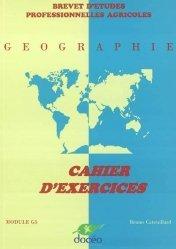 Souvent acheté avec Expression française Module G1 Travaux dirigés B.E.P.A , le Géographie Module G5 BEPA Cahier d'exercices