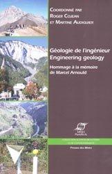 Dernières parutions dans Sciences de la terre et de l'environnement, Géologie de l'ingénieur