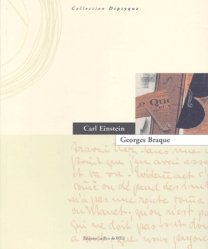 Dernières parutions dans diptyque, Georges Braque