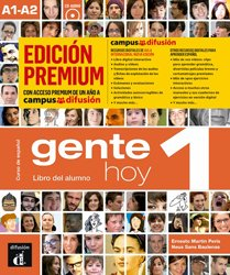 Dernières parutions sur Méthodes de langue (scolaire), Gente hoy 1 - livre de l'eleve + cd premium