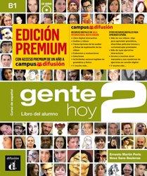 Dernières parutions sur Méthodes de langue (scolaire), Gente hoy 2 - livre de l'eleve + cd premium