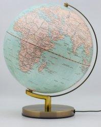 Dernières parutions sur Cartes monde, Globe terrestre bleu lumineux