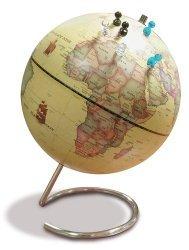 Dernières parutions sur Cartes monde, Globe magnétique 23 cm antique + 6 magnets