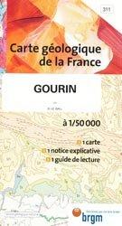 Dernières parutions dans Carte géologique de la France à 1/50 000, Gourin