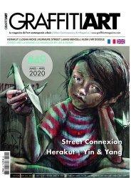 Dernières parutions sur Art mural , graffitis et tags, Graffiti Art N° 49, février-mars 2020