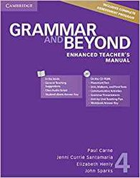 Dernières parutions dans Grammar and Beyond, Grammar and Beyond Level 4 - Enhanced Teacher's Manual with CD-ROM