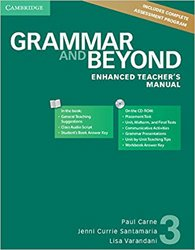 Dernières parutions dans Grammar and Beyond, Grammar and Beyond Level 3 - Enhanced Teacher's Manual with CD-ROM