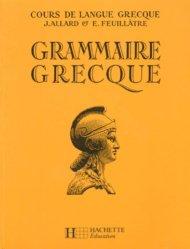 Dernières parutions sur Dictionnaires et références, Grammaire grecque